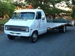 1973 Dodge B300 Custom Car Hauler Dovetail Flatbed Truck for Sale $6,500