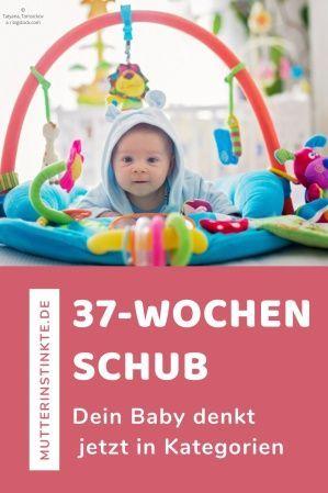Baby 42 Wochen Schub