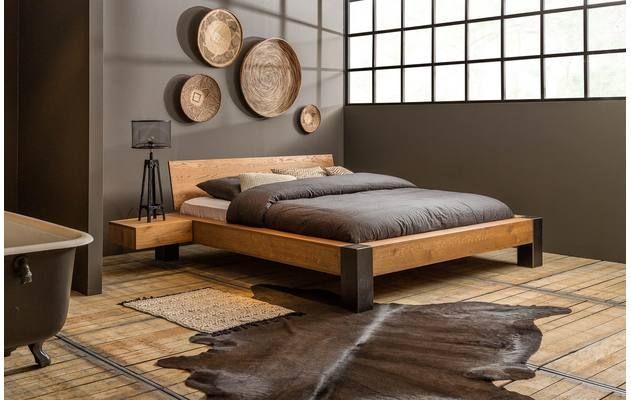 Ledikant fjord in bed frame bedroom bed