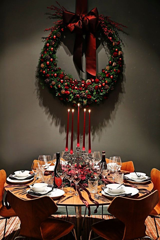 For more than 50 years Royal Copenhagen has invited well-known Danes to design a table setting for christmas. This is professional dancer Thomas Evers Poulsen's bid for 2014.