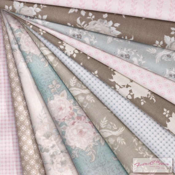 Tilda's All that is Spring Fabric Bundle ( Tilda Quilt Collection ) 11 pieces of Large Fat Quarter ( 55 cm x 50 cm )