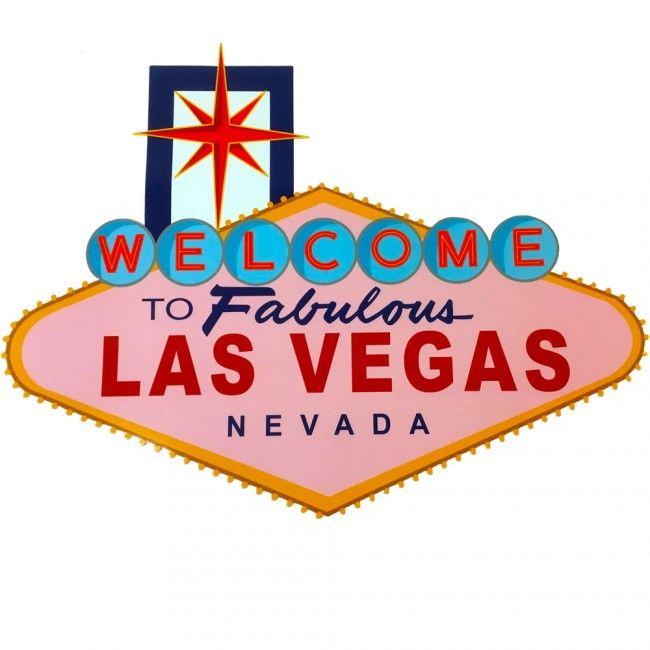 Las Vegas Sign 50 cm - Casino decoratie - Accessoires - Pokerwinkel.nl - Op zoek naar Las Vegas decoratie? Heet je gasten welkom op jouw casino of poker party met dit iconische Welcome to Fabulous Las Vegas Nevada deurbord.