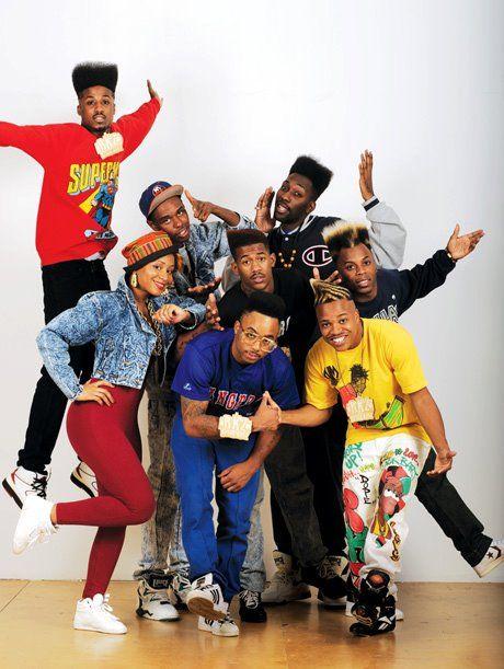 Dress 80 s hip hop style men