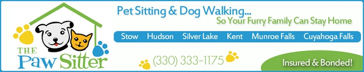 Pet Sitting by The Paw Sitter of Stow, Ohio