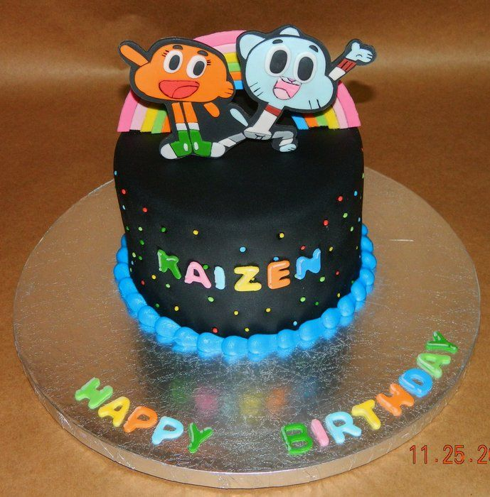 The Amazing World Of Gumball Cake By Maureen Cakesdecorcom more at Recipins.com