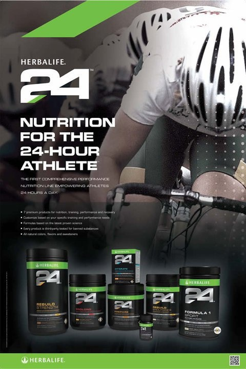 Fitness and Performance made EASY! World's TOP ATHLETES love HERBALIFE 24! Www.goherbalife.com/michaelandsharonspillman