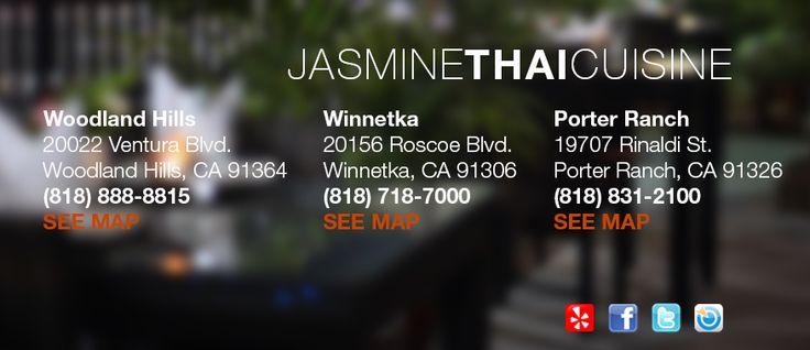 Welcome to Jasmine Thai Cuisine