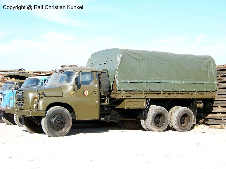 tatra ddr | Tatra 148 6x6 VNM - geländegängig, Mannschafts- und - Fahrzeugbilder ...