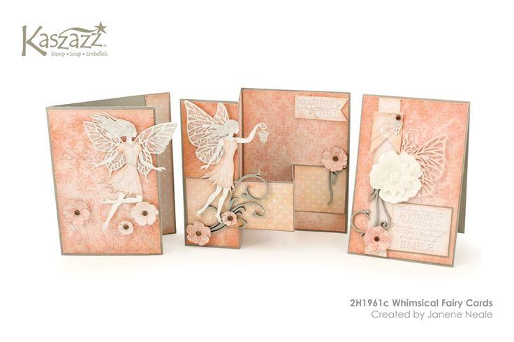 2H1961c Whimsical Fairy Cards