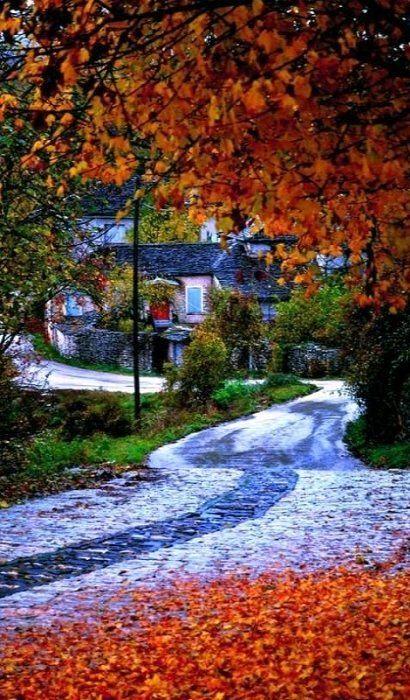 Zagori  in autumn.. Pindus mountains - Epirus, Greece