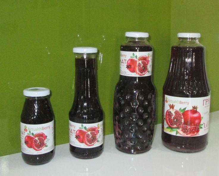 гранатовый сок прямого отжима Artsakhberry