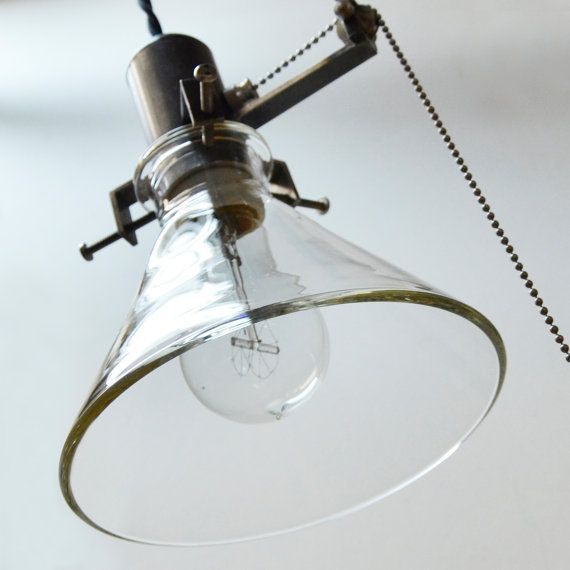 Machine Shop Industrial Pendant Lawrence Pulley €700