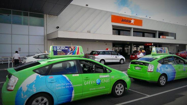 Green Cabs NZ Jetstar Auckland Airport