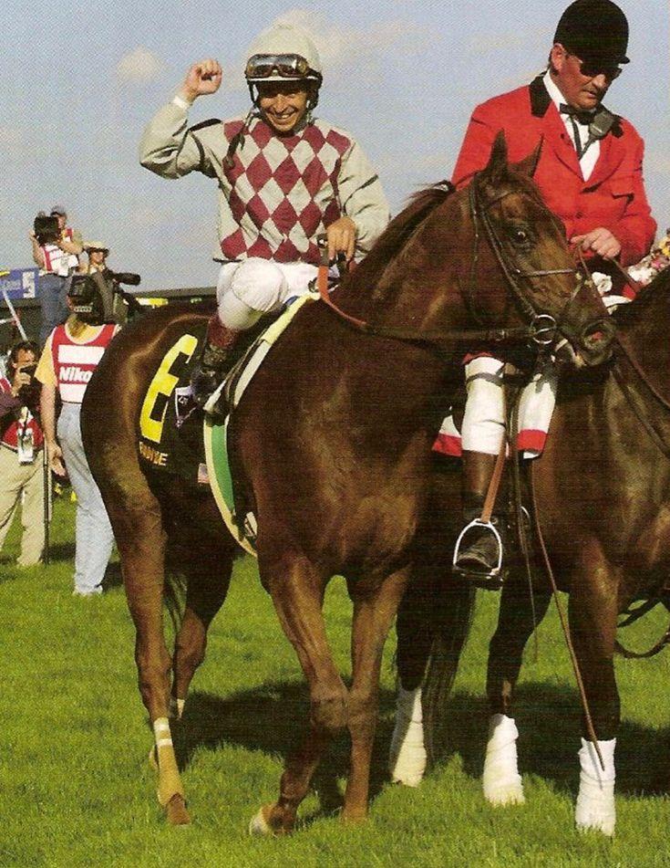 Funny Cide - 2003 Kentucky Derby & Preakness Stakes winner