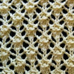 Intricate Lattice Stitch - Purl Avenue