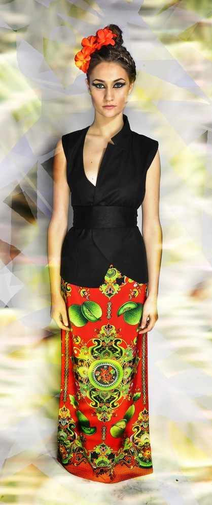 STRIKE A POSE vest & skirt