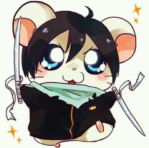 Yato, hamster, cute, Hamtaro, crossover; Noragami