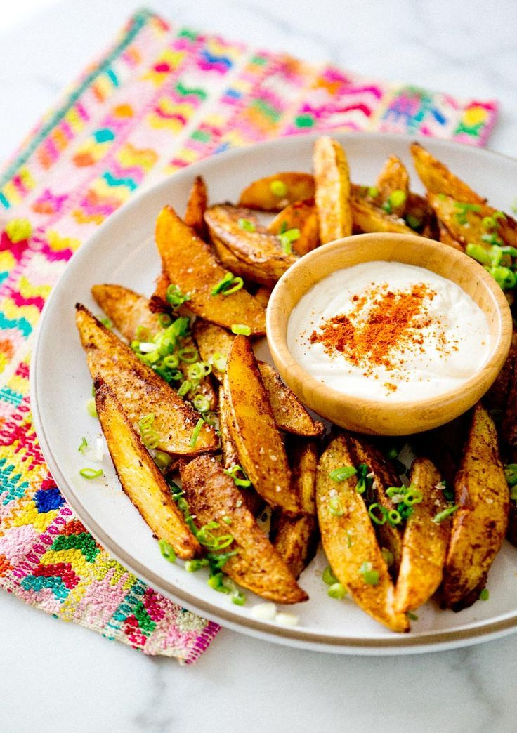 Spicy Potato Wedges | a house in the hills