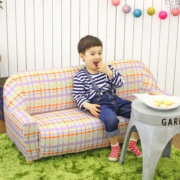 3人掛け子供用ソファー入学祝い Petit 3P パターン | アーネインテリア公式通販