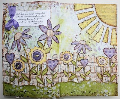 Paperlicious Designs: Mixed Media Art Journal Project