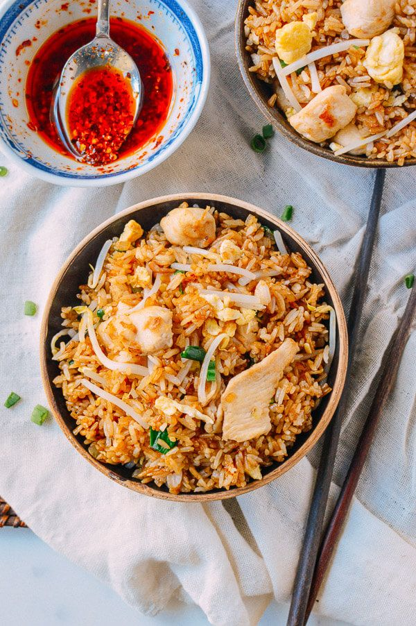 Chicken Fried Rice, by thewoksoflife.com - for leftover rice