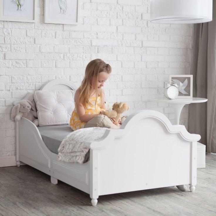 White Toddler Bed Mer Enn 25 Bra Ideer Om P
