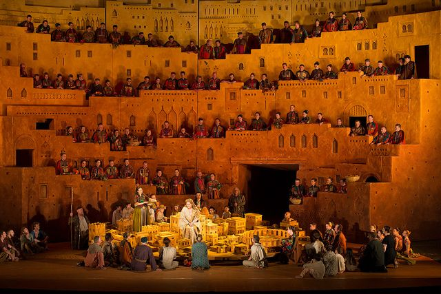 The Royal Opera in Les Troyens by Royal Opera House Covent Garden, via Flickr