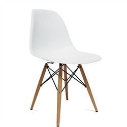 Eames Style Wood Leg Chair