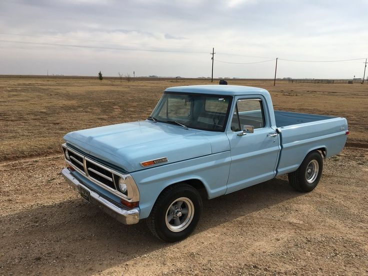Ford Bronco For Sale Craigslist >> 1971 Ford F100 for sale by Owner - Lubbock, TX | OldCarOnline.com Classifieds | Trucks ...