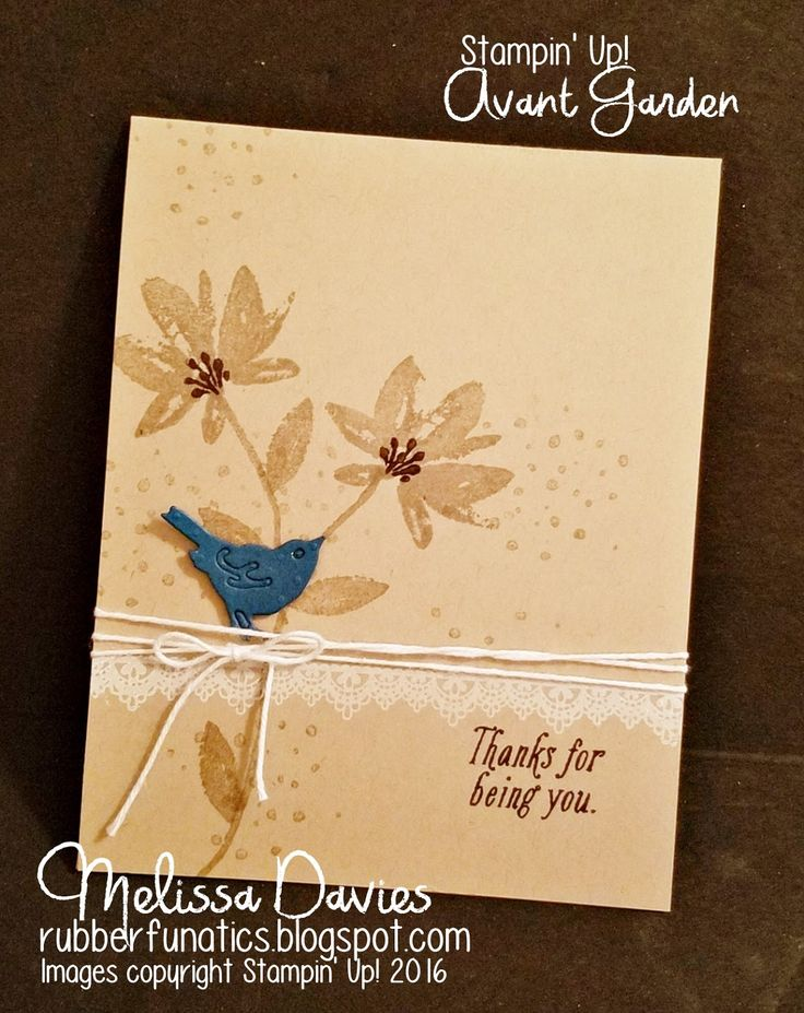 Good Morning, Stampers!   I had an opportunity to play with some new toys today! I LOVE FREE and the stamp sets used on this card are both f...