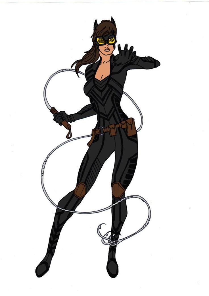 Catwoman Redesign! by Comicbookguy54321.deviantart.com on @deviantART