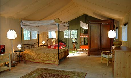 Europe's Top Glamping Spots - Le Grand Bois, France.