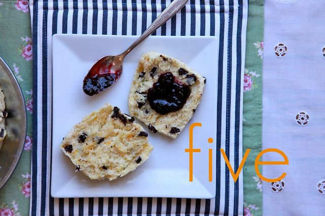 Orange and Dark Chocolate Buttermilk Scones by Joy the Baker... one of ...