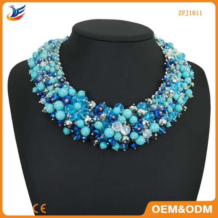Trendy necklace jewelry women cheap statement necklace
