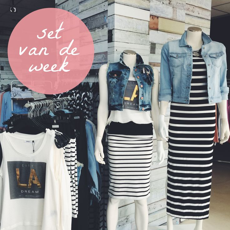 Set van de week! Maxi dresses & denim jackets.