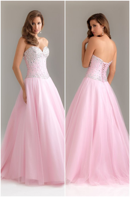 Long Sweetheart Prom Dress