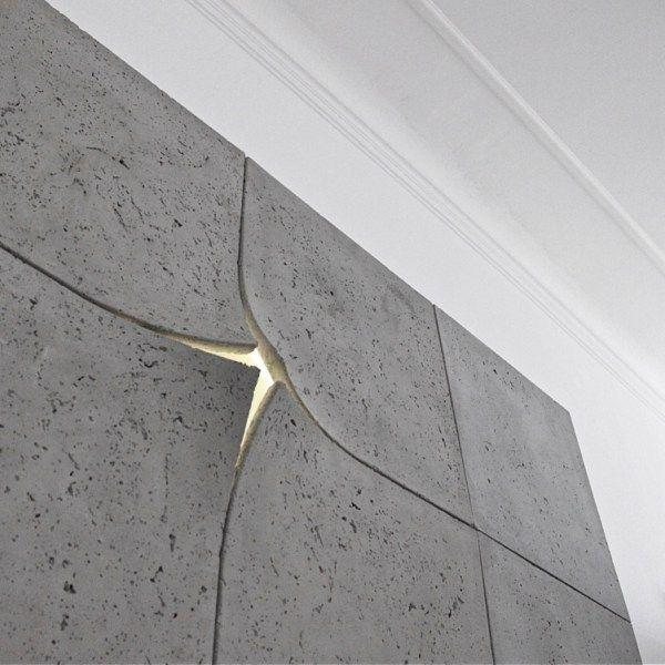 Lampa - konstrukcja z betonu Coo2