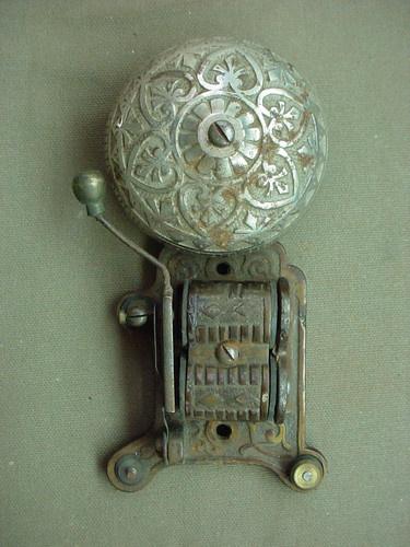 Victorian Cast Iron Bell circa 1880 -1900
