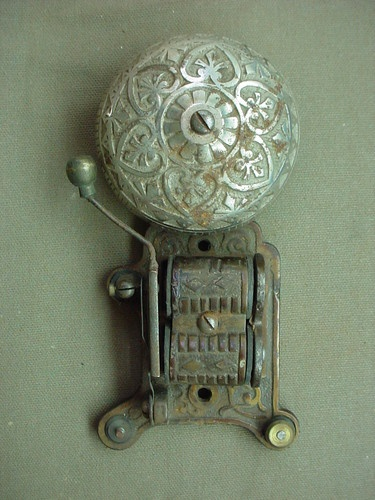 Victorian Cast Iron Bell circa 1880 1900