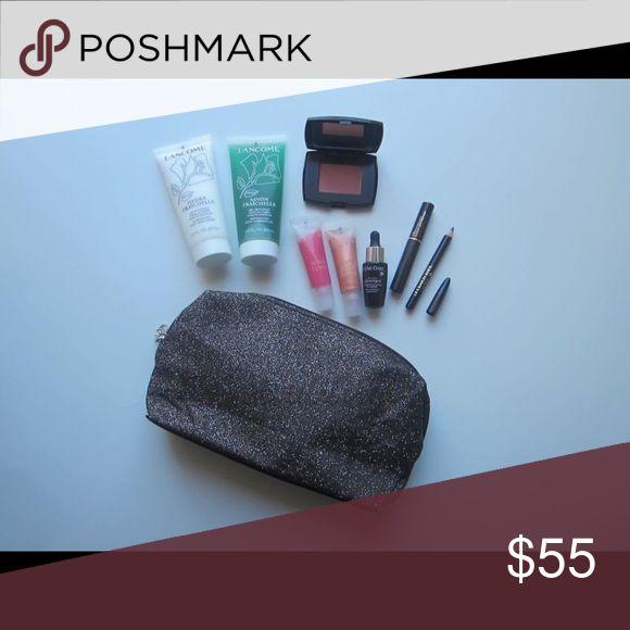 Lancome Makeup & Skincare 🌸 🌸 TREAT YOURSELF 🌸 Includes 9-piece set (up to $105 value)▫️Savon Fraichelle Invigorating Body Cleansing Gel, 60 ml▫️Hydra Fraichelle Invigorating Body Moisturizer, 60 ml▫️Advanced Génifique Serum, 8 ml▫️Blush Subtil Delicate Oil Free Powder Blush, Aplum, 0.88 oz▫️Juicy Tubes Lip Gloss, Moulin Rose, 0.33 fl oz▫️Juicy Tubes Lip Gloss, Simmer, 0.33 fl oz▫️Definicils Mascara, Black 0.07 fl oz▫️Le Crayon Khol Smoky Eye Liner, Black Ebony, 0.02 oz▫️Lancome Paris…