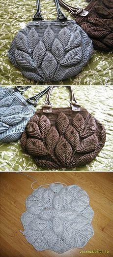 Bolso en crochet