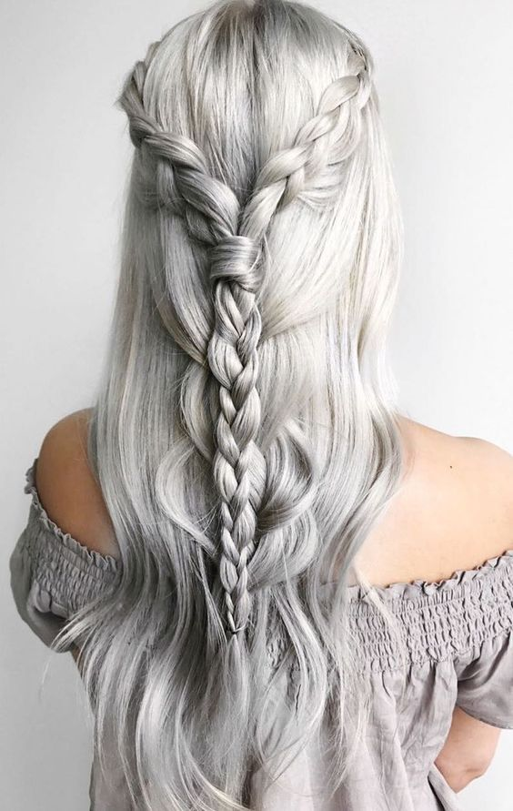 34 Braid Hairstyles You Need To Try Next Hairstyles Pinterest