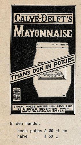 adv Calve mayonaise 1931 | Flickr - Photo Sharing!