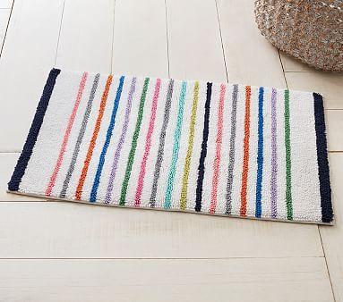 Best Bathmat Images On Pinterest Bath Mats Bathroom Ideas - Striped bath mat for bathroom decorating ideas