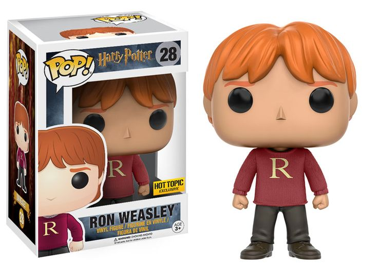 Pop!: Harry Potter - #28 Ron Weasley (Christmas Sweater) - Hot Topic Exclusive