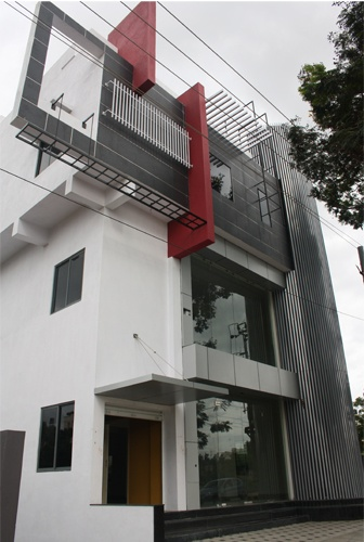 Front Elevation Duplex House Bangalore : Nalini s commercial complex in bangalore front elevation