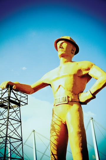 106 best livin on tulsa time images on pinterest tulsa time one of the most iconic tulsa oklahoma landmarks the golden driller malvernweather Gallery