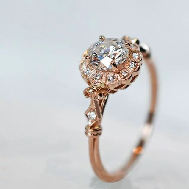 25 vintage rings that women would love, as their love would be infinite