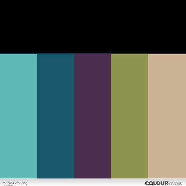 Teal Paint Color Schemes: The 25+ Best Peacock Color Scheme Ideas On Pinterest