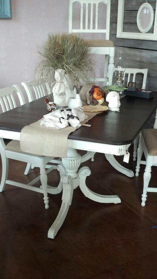 My new antique dining room table and chairs purchased for Dining table nashville tn